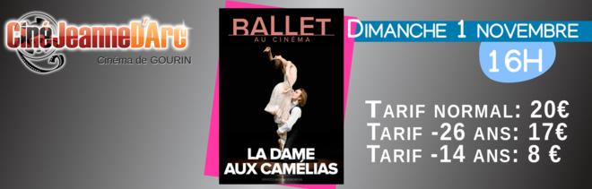 Ballet du Bolchoï : La dame aux camélias