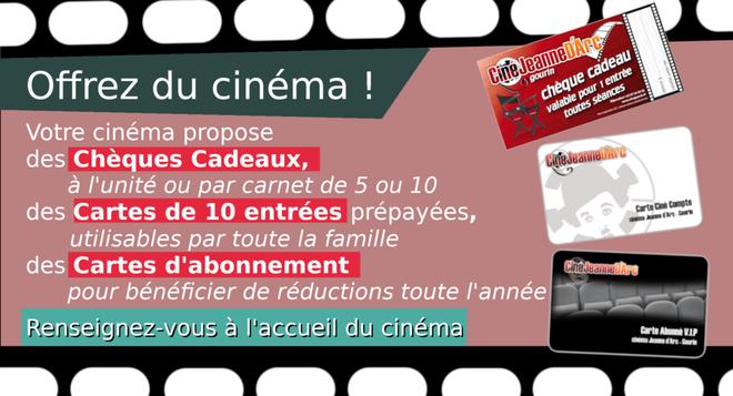 Offrez du cinéma !!