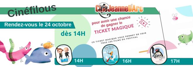 Cinéfilous : Ticket Magique !!