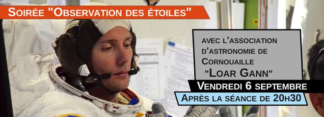 """Thomas Pesquet, l'étoffe des héros  + Soirée """"observation des étoiles"""""""