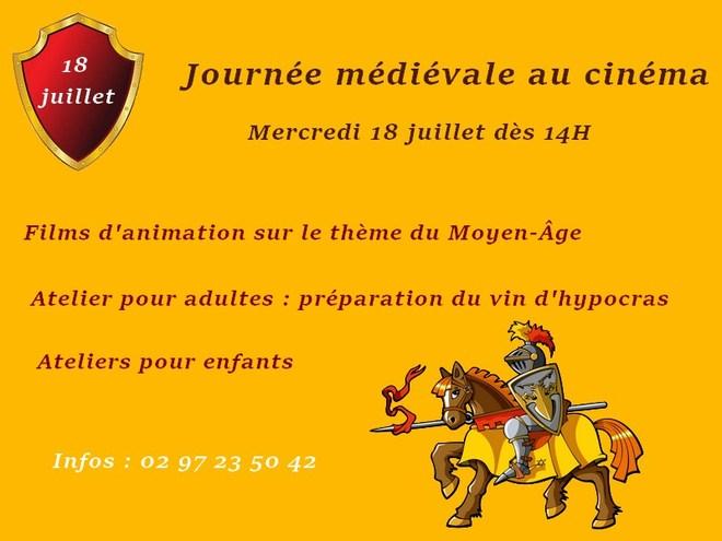 Journée médiévale au cinéma